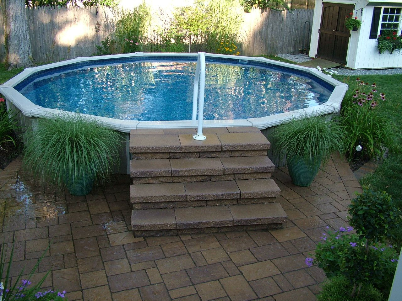 16 Spectacular Above Ground Pool Ideas You Should Steal Need For regarding Above Ground Pool Ideas Backyard