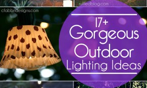 17 Outdoor Lighting Ideas For The Garden Scattered Thoughts Of A throughout Backyard Lighting Ideas