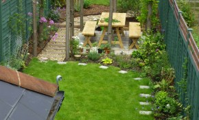 18 Clever Design Ideas For Narrow And Long Outdoor Spaces within 12 Clever Tricks of How to Upgrade How To Design A Backyard Landscape Plan