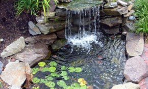 18 Flawless Waterfalls Garden Ideas To Get You Inspired Kolam Ikan in 11 Some of the Coolest Initiatives of How to Upgrade Backyard Small Pond Ideas