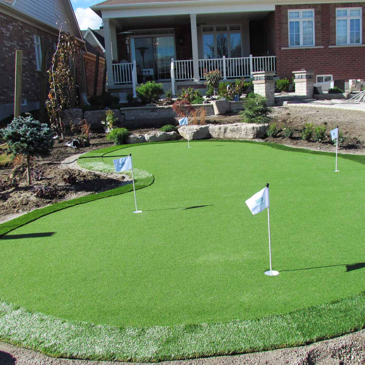 19 Crazy Cool Backyard Putting Greens The Family Handyman throughout 11 Some of the Coolest Concepts of How to Upgrade How Much Does It Cost To Landscape A Backyard