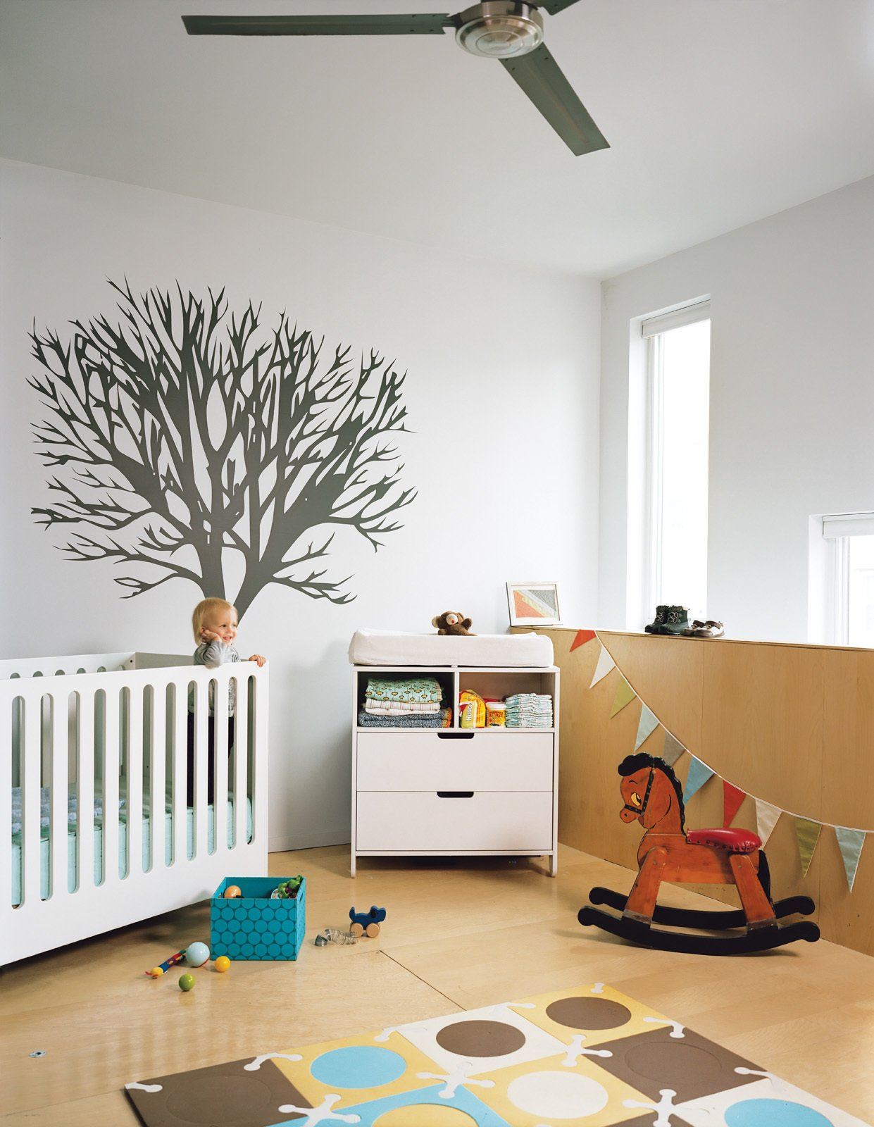 20 Cool Cribs For The Modern Ba Dwell intended for Modern Baby Bedroom