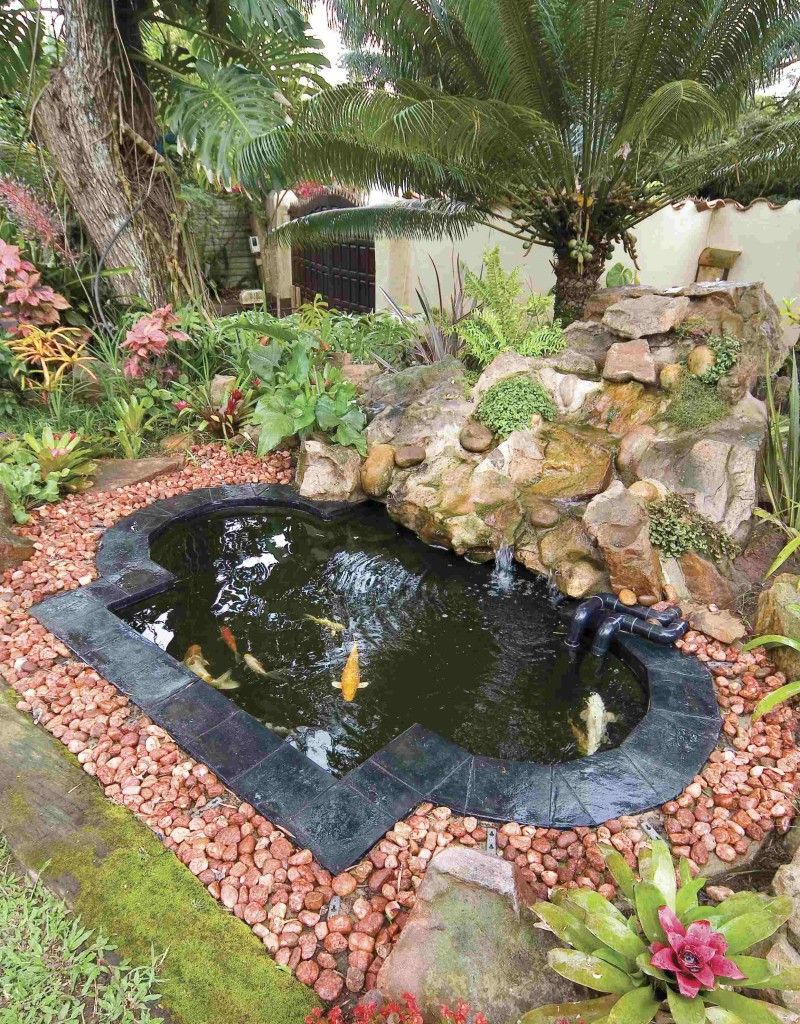 20 Koi Pond Ideas To Create A Unique Garden Great Gardens Ideas inside 13 Clever Initiatives of How to Make Easy Backyard Pond Ideas