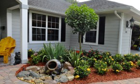 24 Low Cost Ways To Power Up Your Homes Curb Appeal Front Yard Ideas throughout 14 Genius Ideas How to Upgrade Cost Of Landscaping Backyard