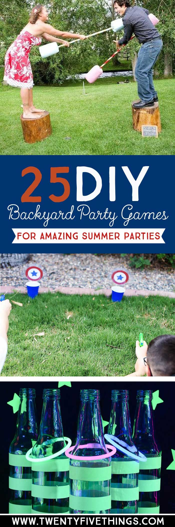 25 Diy Backyard Party Games For The Best Summer Party Ever Games intended for Diy Backyard Party Ideas