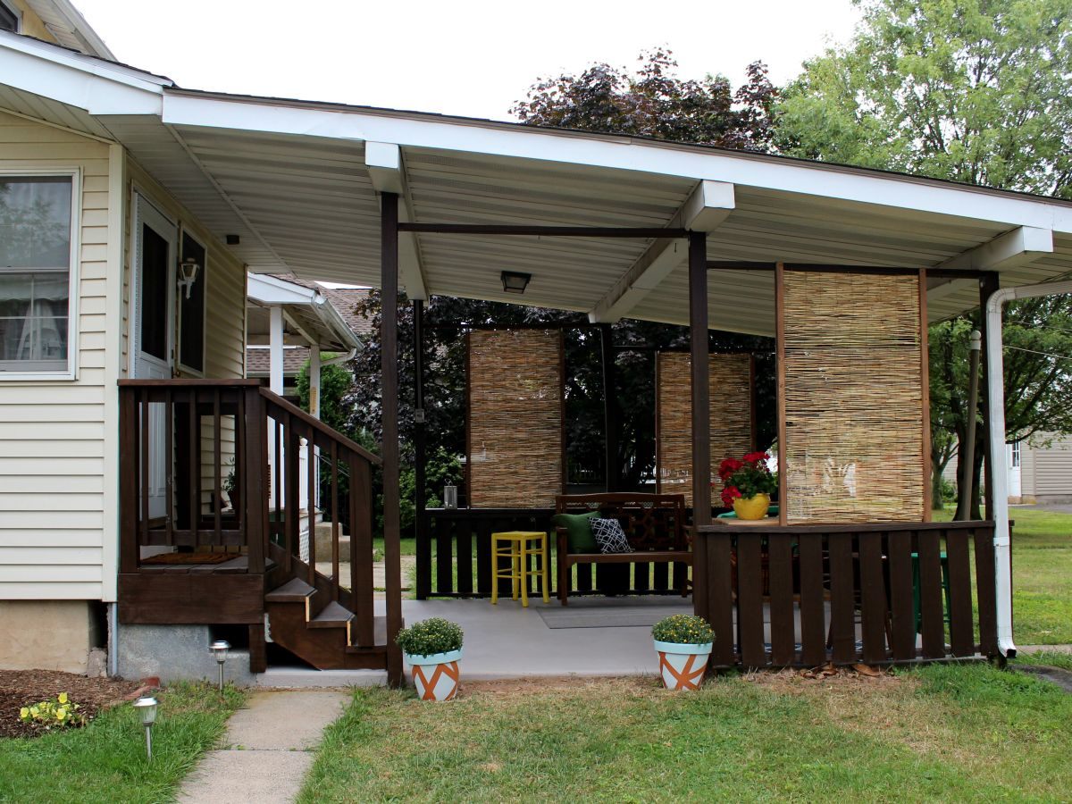27 Awesome Diy Outdoor Privacy Screen Ideas With Picture with regard to Diy Backyard Deck Ideas