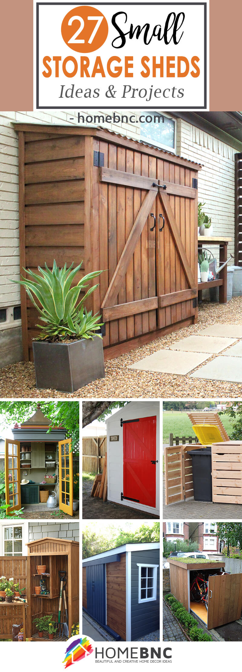 27 Best Small Storage Shed Projects Ideas And Designs For 2019 intended for 13 Some of the Coolest Designs of How to Build Backyard Storage Shed Ideas
