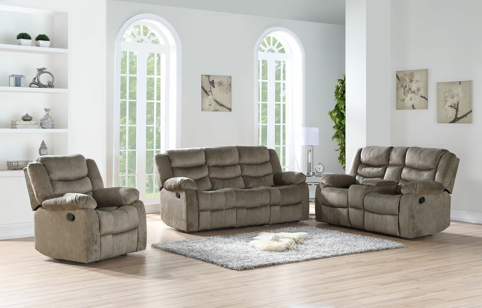 2pc Motion Living Room Set Plus Bonus Free Glider Recliner Chair with regard to 15 Awesome Designs of How to Makeover Free Living Room Set