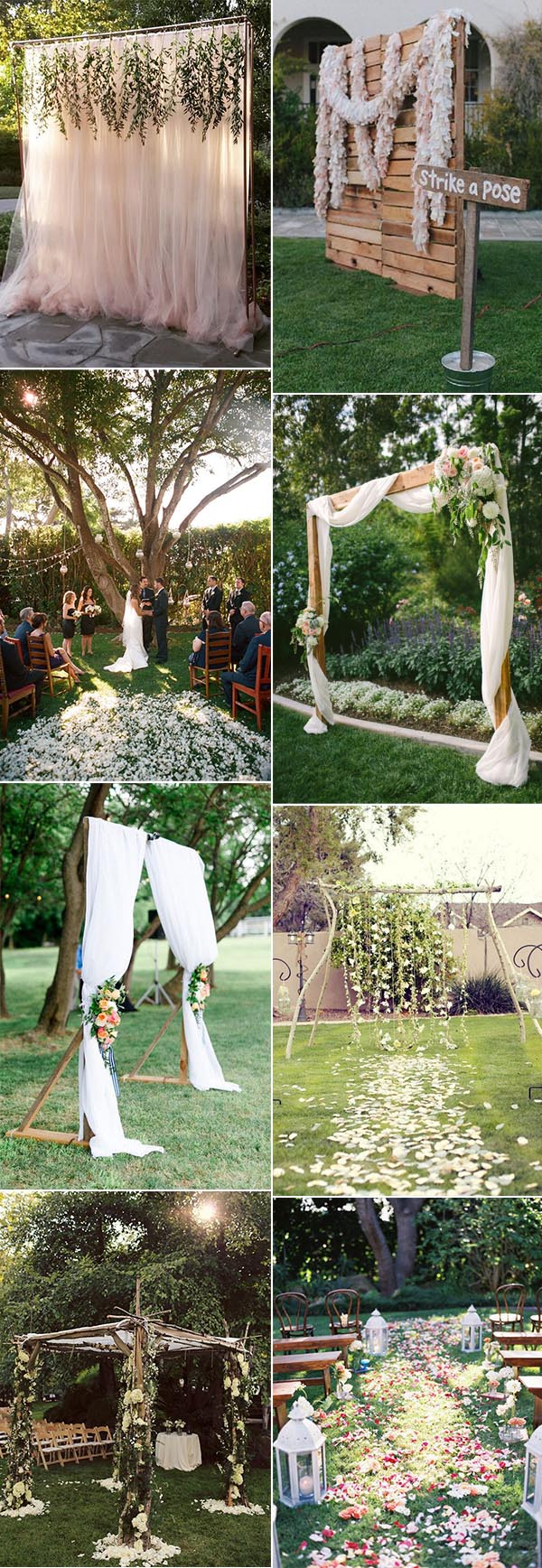30 Sweet Ideas For Intimate Backyard Outdoor Weddings regarding 12 Genius Designs of How to Build Backyard Weddings Ideas