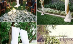 30 Sweet Ideas For Intimate Backyard Outdoor Weddings Wedding in Small Backyard Wedding Ideas