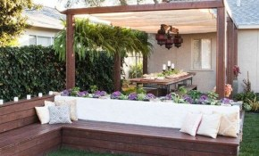32 Amazing Backyard Seating Ideas Perfect For Summer Outdoor with Summer Backyard Ideas