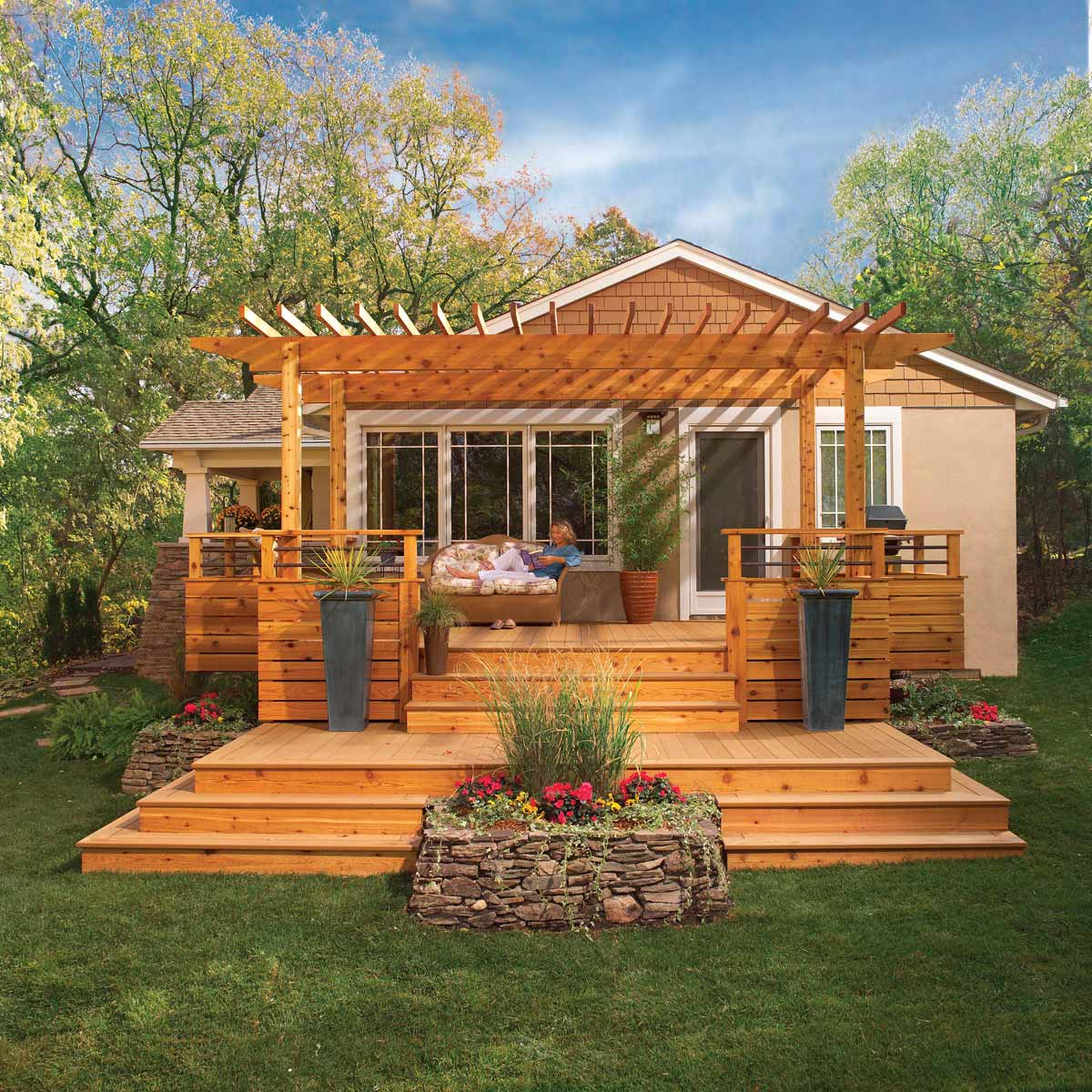 34 Awesome Outdoor Diy Projects To Get You Outside The Family Handyman with regard to 12 Smart Designs of How to Make Diy Backyard Deck Ideas