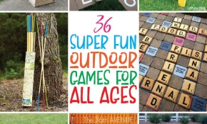 36 Of The Most Fun Outdoor Games For All Ages Play Party Plan with Backyard Game Ideas For Adults
