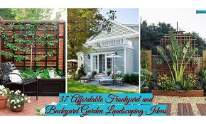37 Affordable Frontyard And Backyard Garden Landscaping Ideas regarding 10 Awesome Concepts of How to Craft Affordable Backyard Landscaping Ideas