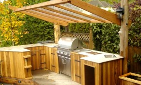 40 Outdoor Kitchen And Grill Ideas 2017 Small And Big Outdoor pertaining to 13 Clever Concepts of How to Make Backyard Kitchen Ideas