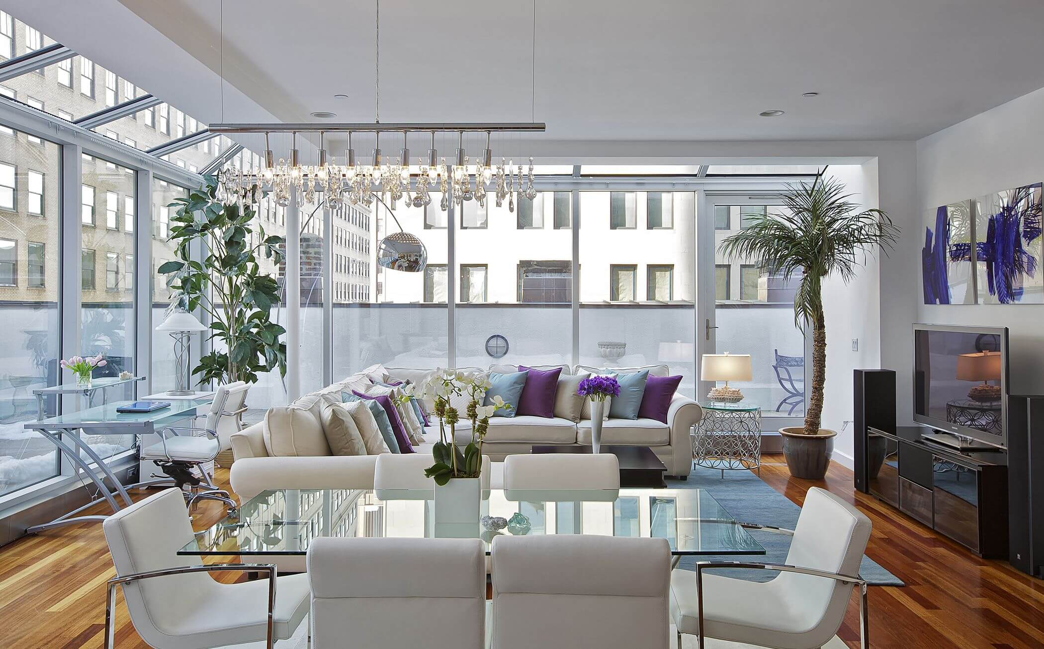 45 Contemporary Living Rooms With Sectional Sofas Pictures intended for 15 Clever Ways How to Make Dining And Living Room Sets