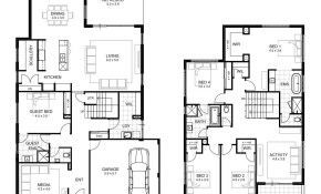 5 Bedroom House Designs Perth Double Storey Apg Homes pertaining to Modern 5 Bedroom House Plans