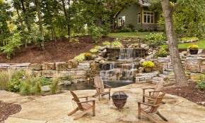 60 Backyard Pond Ideas Photos pertaining to Backyard Pond Ideas With Waterfall