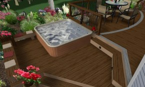 63 Hot Tub Deck Ideas Secrets Of Pro Installers Designers within Backyard Deck Ideas With Hot Tub
