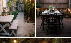 9 Stunning Ideas For Outdoor Globe String Lights The Garden Glove for Backyard String Lights Ideas