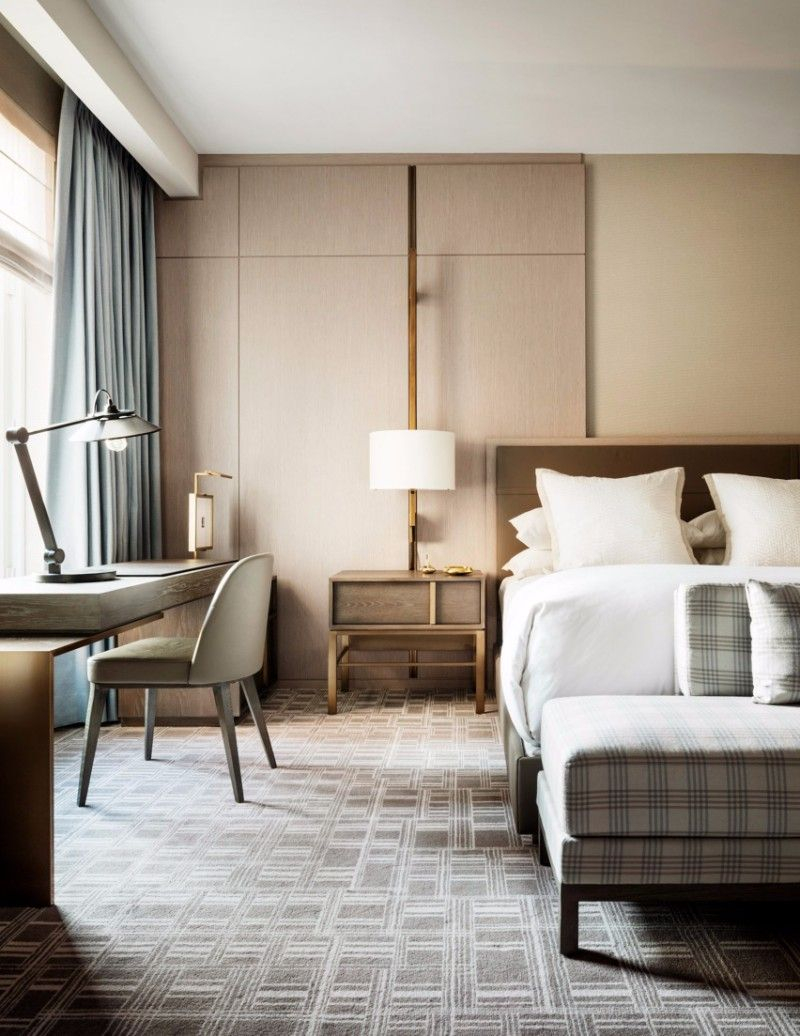 A Modern Hotel Interior With A Simple Bedroom Design That Makes Use inside Modern Simple Bedroom Design