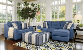 Aldie Nuvella Blue Living Room Set Benchcraft 2 Reviews Furniture in Kids Living Room Set