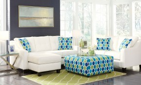 Aldie Nuvella White Living Room Set Benchcraft Furniturepick with Turquoise Living Room Set