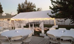 All White Party Backyard Set Up Sweet 16 All White Party All throughout 13 Smart Ideas How to Makeover Backyard Birthday Party Ideas Sweet 16