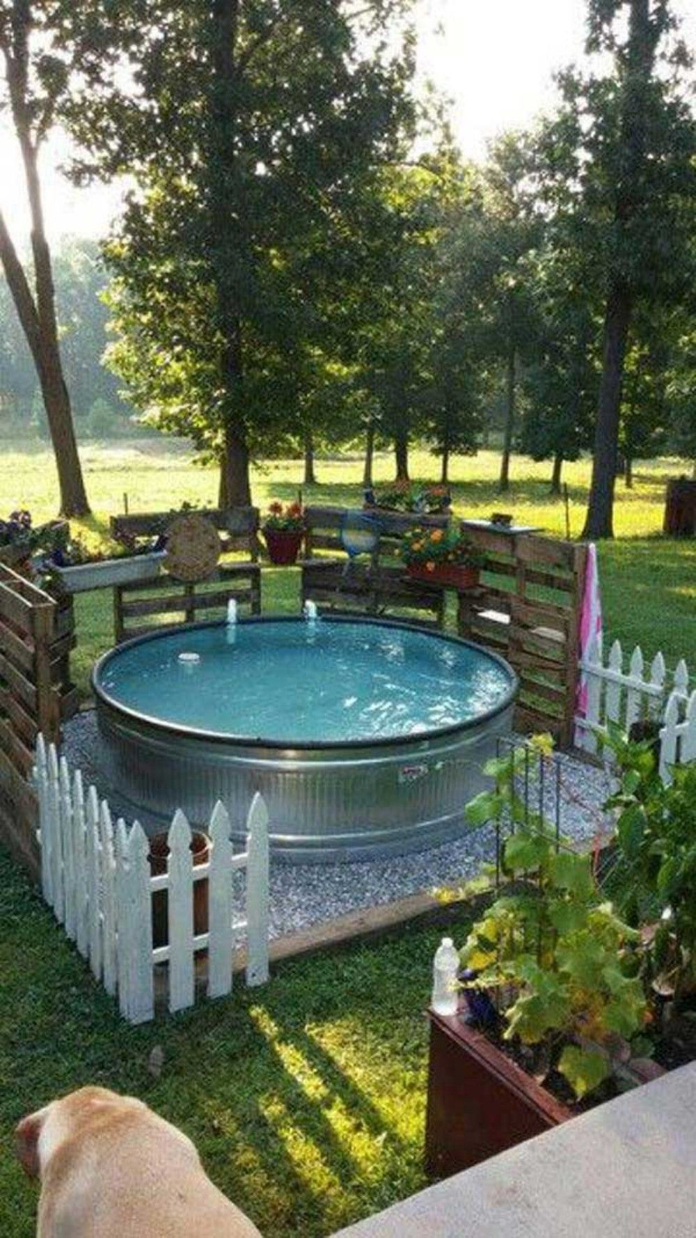 Amazing Diy Backyard Ideas On A Budget 23 Water Featurepool for 13 Awesome Designs of How to Make Diy Backyard Ideas On A Budget