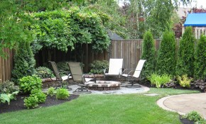 Amazing Ideas For Small Backyard Landscaping Great Affordable throughout How To Design A Backyard Landscape Plan