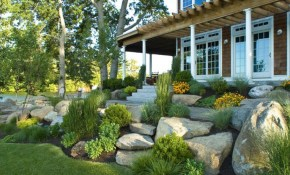 Amazing Rock Landscaping Ideas For Front Yard Styles Inspiring with 10 Clever Initiatives of How to Improve Rock Backyard Landscaping Ideas