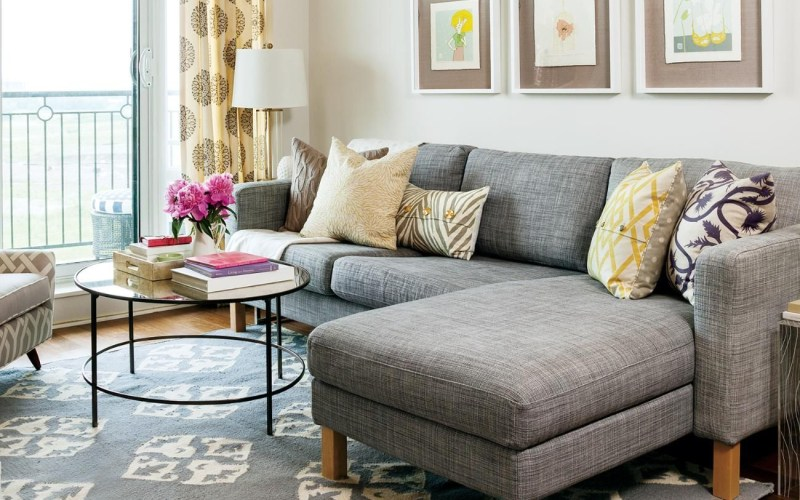 Apartment Tour Colourful Rental Makeover In 2019 Home Ideas in Apartment Living Room Sets