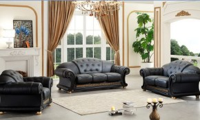 Apolo Leathersplit Living Room Set Esf Furniture Sohomod within Living Room Set On Sale