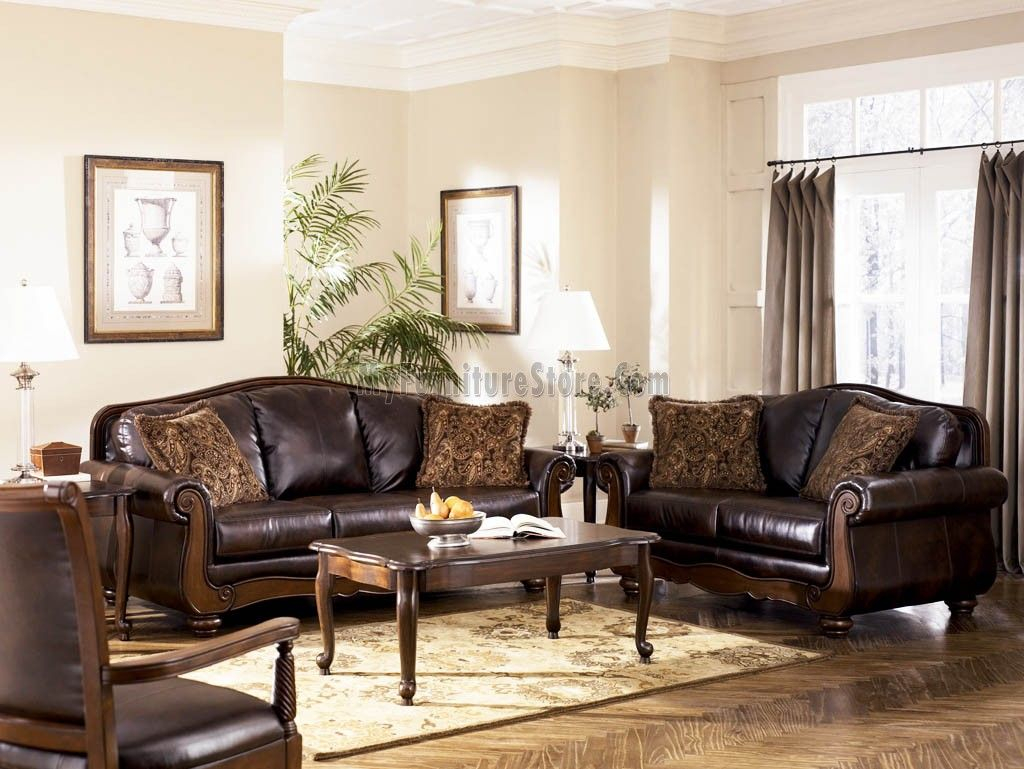 Ashley Furniture Living Room Antique Living Room Set Signature regarding 12 Smart Ways How to Make Claremore Antique Living Room Set