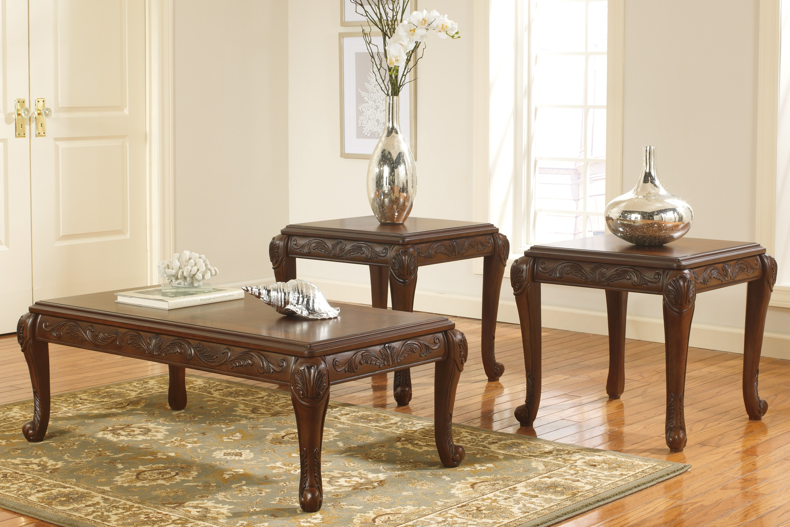Ashley Furniture Living Room Tables Modern Buy T593 13 San Martin 3 intended for 15 Genius Ways How to Make 4 Piece Living Room Table Set