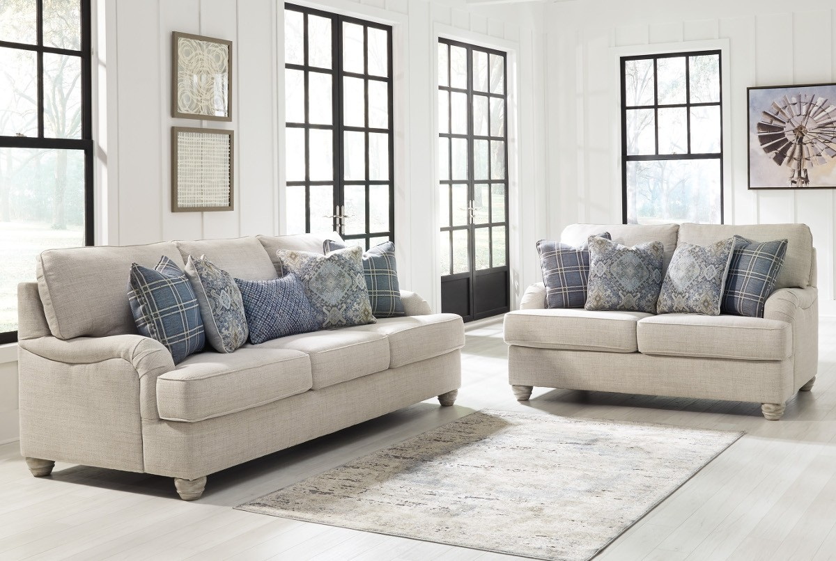 Ashley Furniture Traemore Living Room Set In Linen Local Furniture pertaining to Full Living Room Sets Cheap