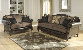 Ashley Furniture Winnsboro Living Room Set In Vintage Local pertaining to Living Room Set