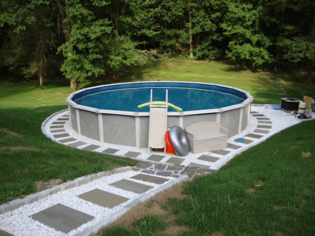 Awesome Above Ground Pool Landscape Ideas 260 Pool Above Ground for Above Ground Pool Backyard Landscaping Ideas