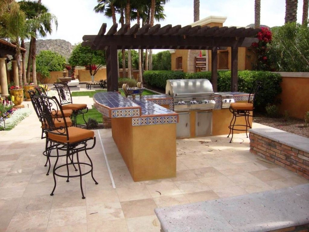 10 Awesome Concepts of How to Build Backyard Bbq Area ... on Patio Grilling Area  id=72773