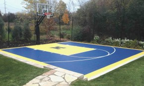 Backyard Basketball Court Ideas Outdoor Goods within 12 Smart Designs of How to Improve Backyard Basketball Court Ideas