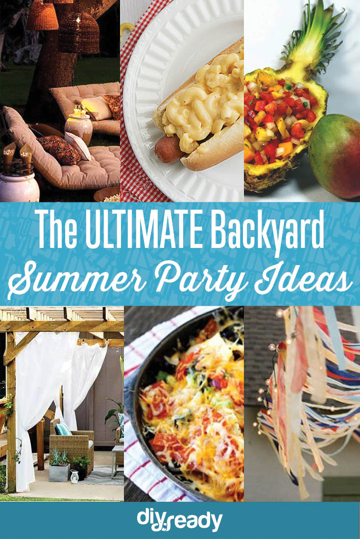 Backyard Bbq Party Ideas Diy Projects Craft Ideas How Tos For throughout 12 Clever Designs of How to Improve Backyard Bbq Party Ideas