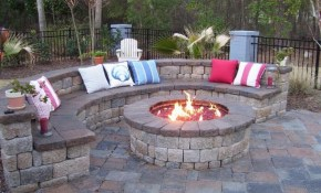 Backyard Design Ideas With Fire Pit Fireplace Design Ideas throughout 14 Genius Designs of How to Improve Backyard With Fire Pit Landscaping Ideas