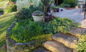 Backyard Fabulous Landscaping Sloped Backyard For Your Home Idea for Landscaping Ideas For A Sloped Backyard