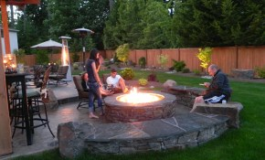 Backyard Landscaping Ideas With Fire Pit Rustic Style Pits Hgtv in 12 Smart Tricks of How to Make Backyard Landscaping With Fire Pit