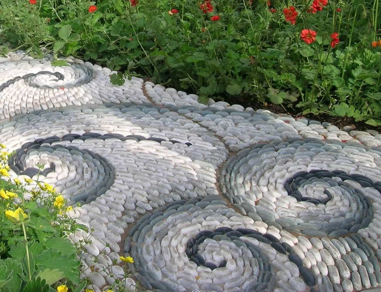 Backyard Landscaping Ideas With Pebble Path House Backyard throughout 12 Awesome Ways How to Build Great Backyard Landscaping Ideas