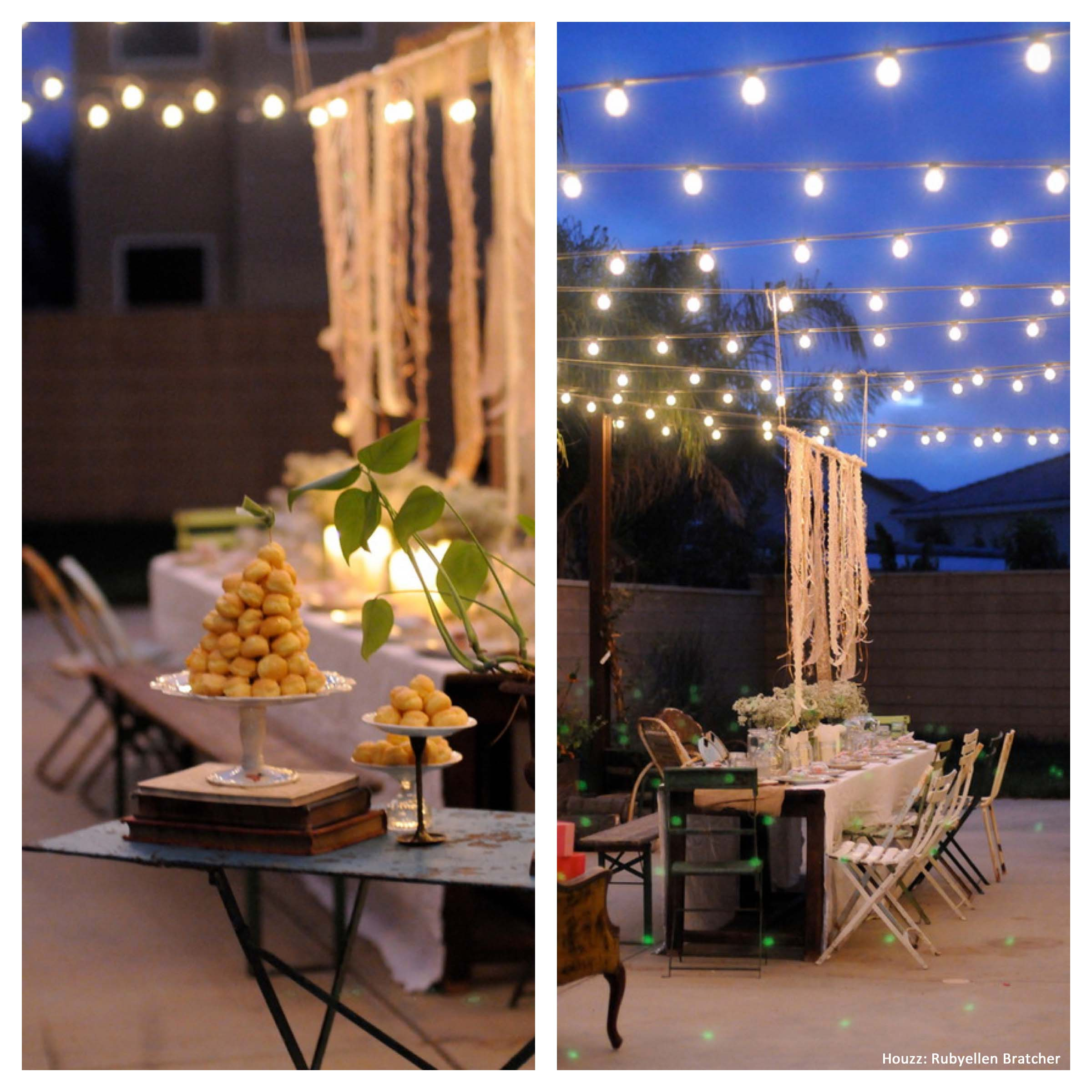 Backyard Party Ideas Outdoor Living Spaces Homes Tradition intended for Fun Backyard Party Ideas