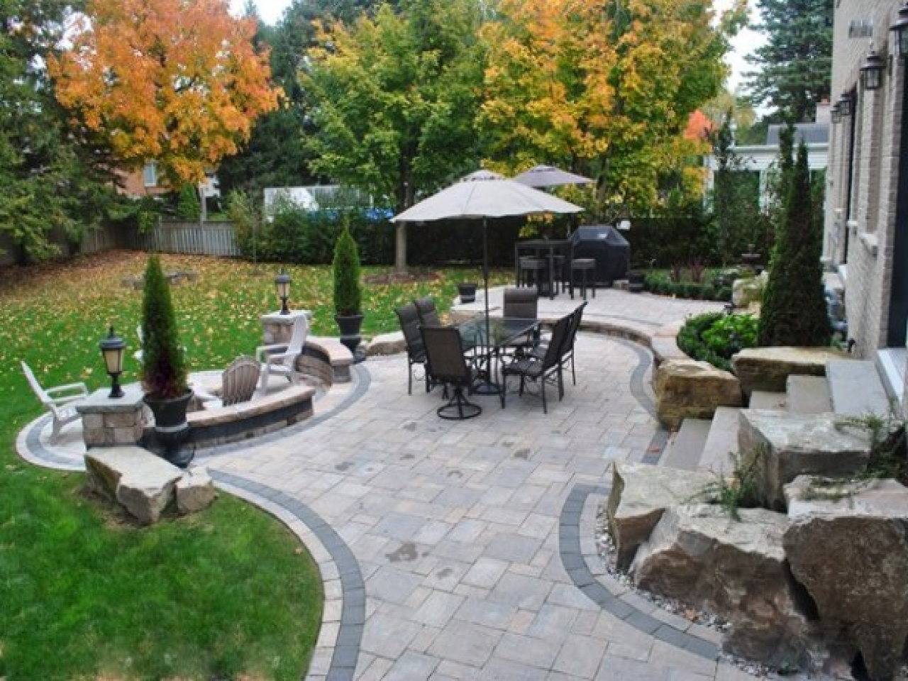 Backyard Patio Home Decor Ideas Editorial Ink with Ideas For Backyard Patio