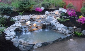 Backyard Pond Waterfalls Ideas Affordable But Tierra Este 69540 throughout Waterfall Ideas For Backyard