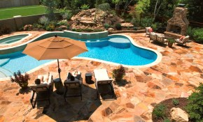 Backyard Pool Deck Ideas And Pool Deck Ideas For Inground Pools inside Backyard Pool Deck Ideas