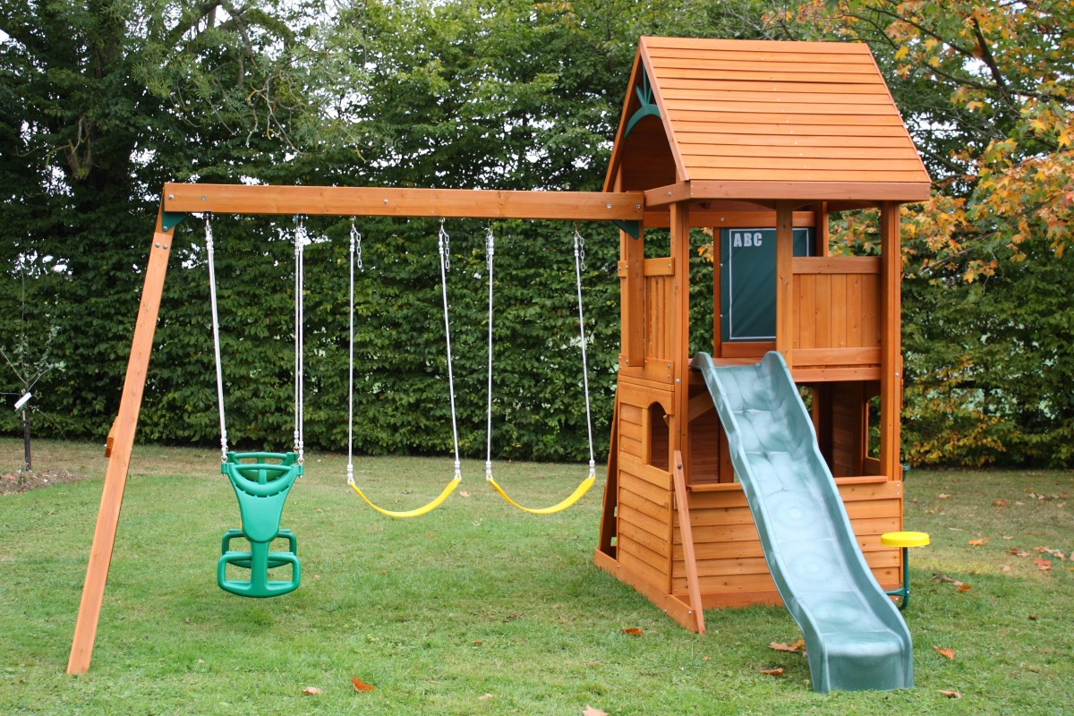 Backyard Swing Sets The Latest Home Decor Ideas with regard to 12 Smart Ideas How to Upgrade Backyard Swing Set Ideas
